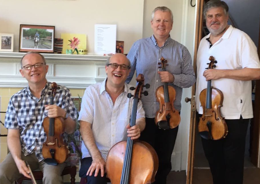Coull Quartet played at Fairfield