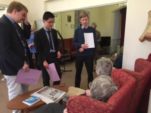 Engaging in conversations with Magdalen College School
