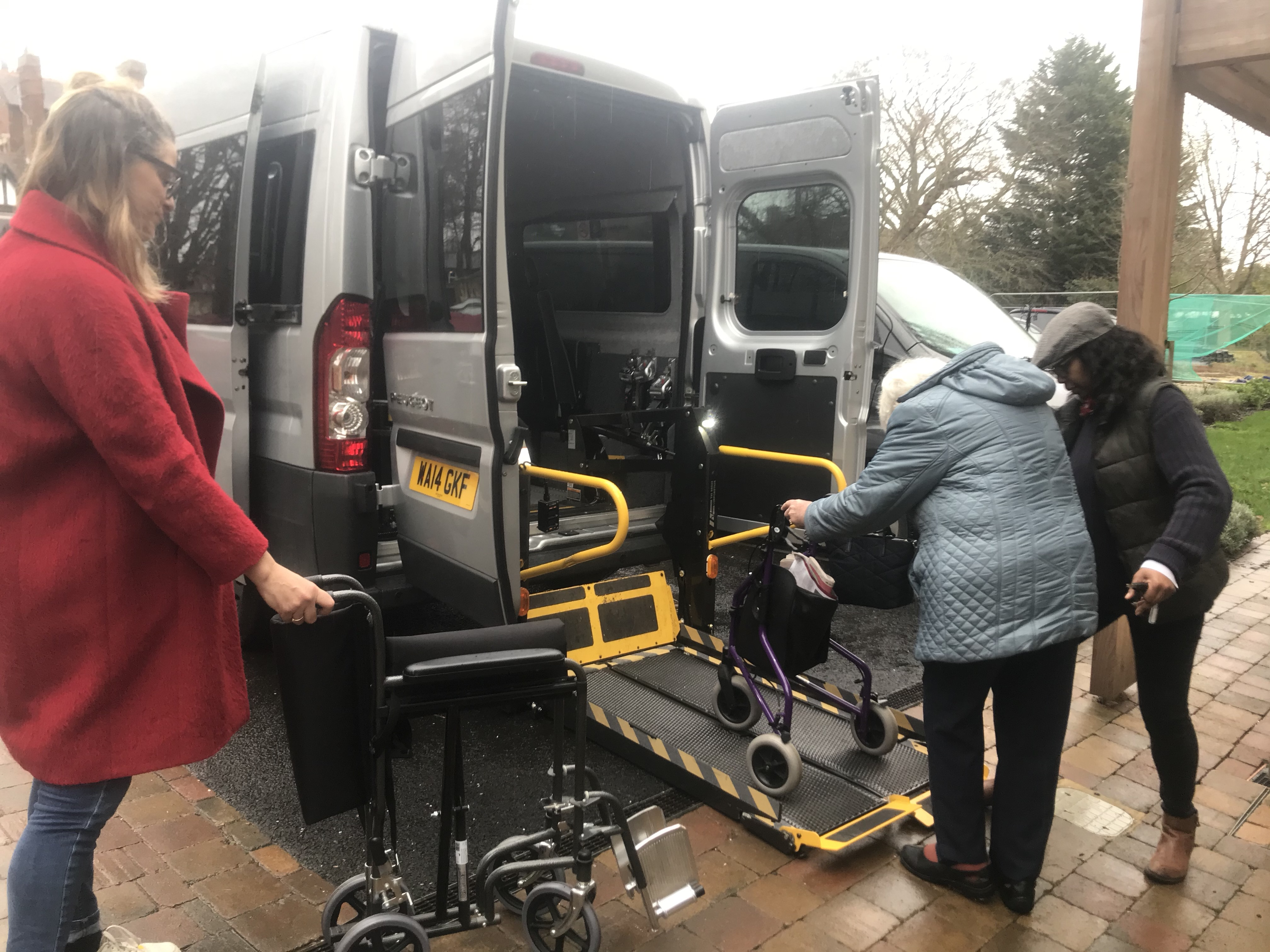 Fairfield minibus outing
