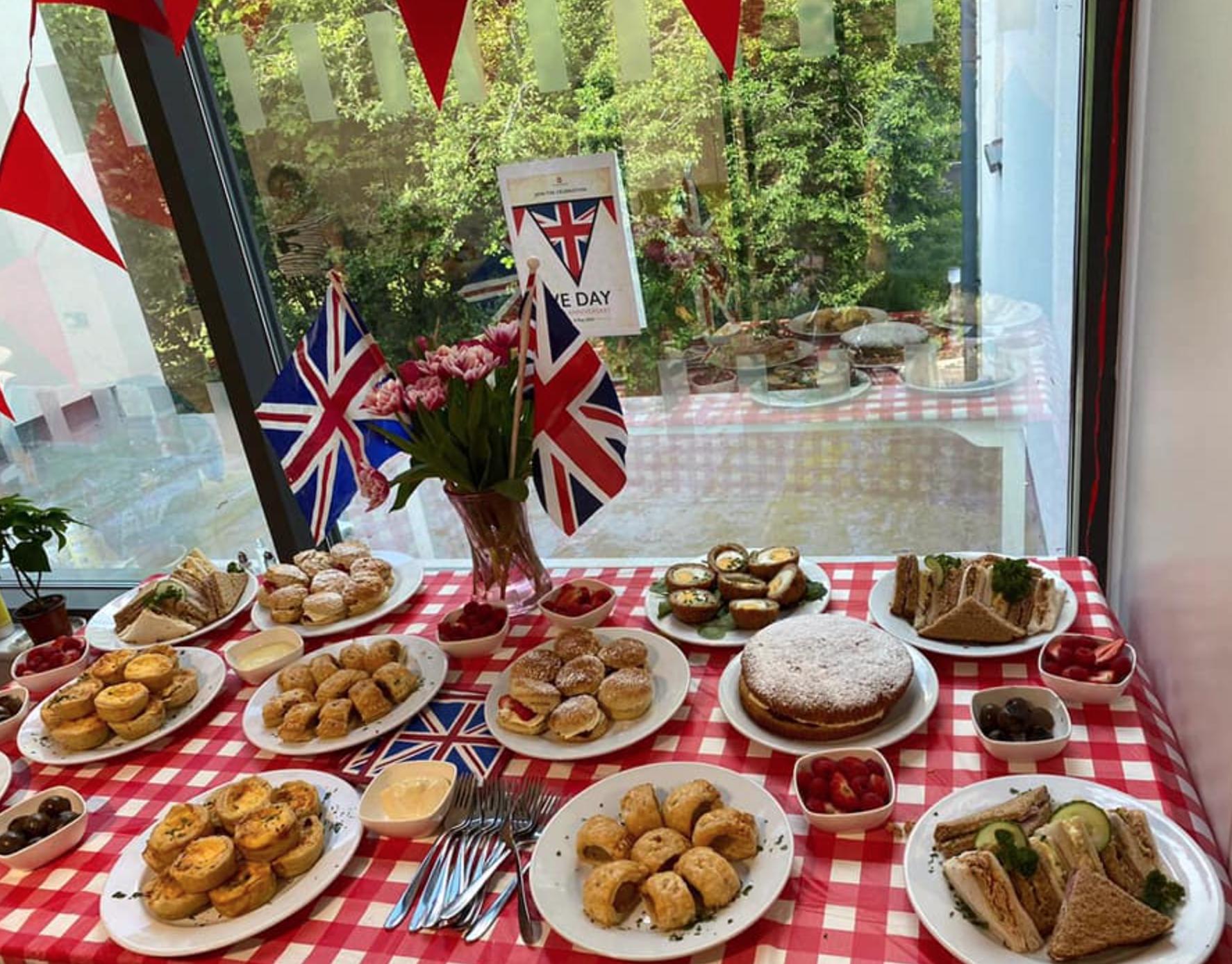 75 anniversary of VE Day tea